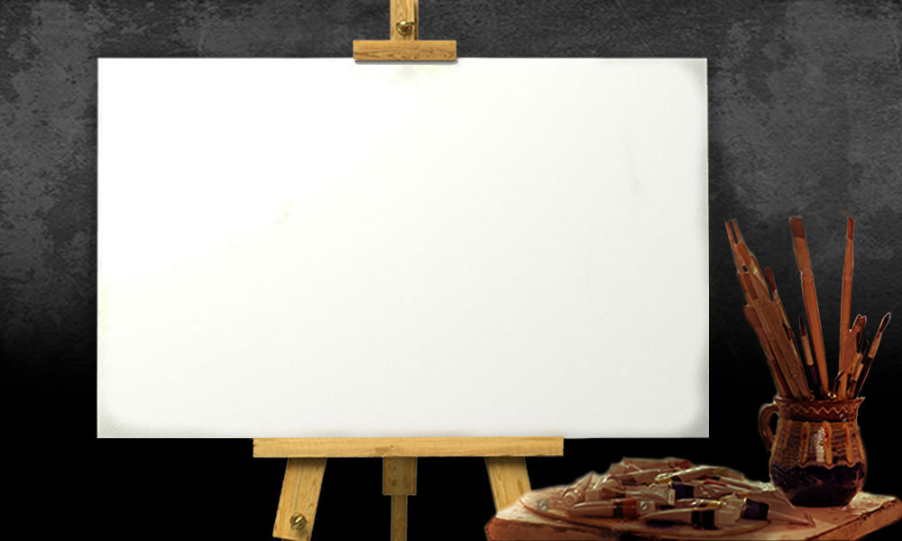 Panoramic Blank Canvas Recovered - Home