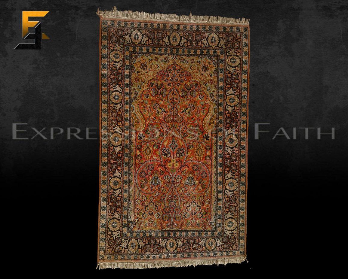 CPM007 Prayer mat 001 - Carpet Shop