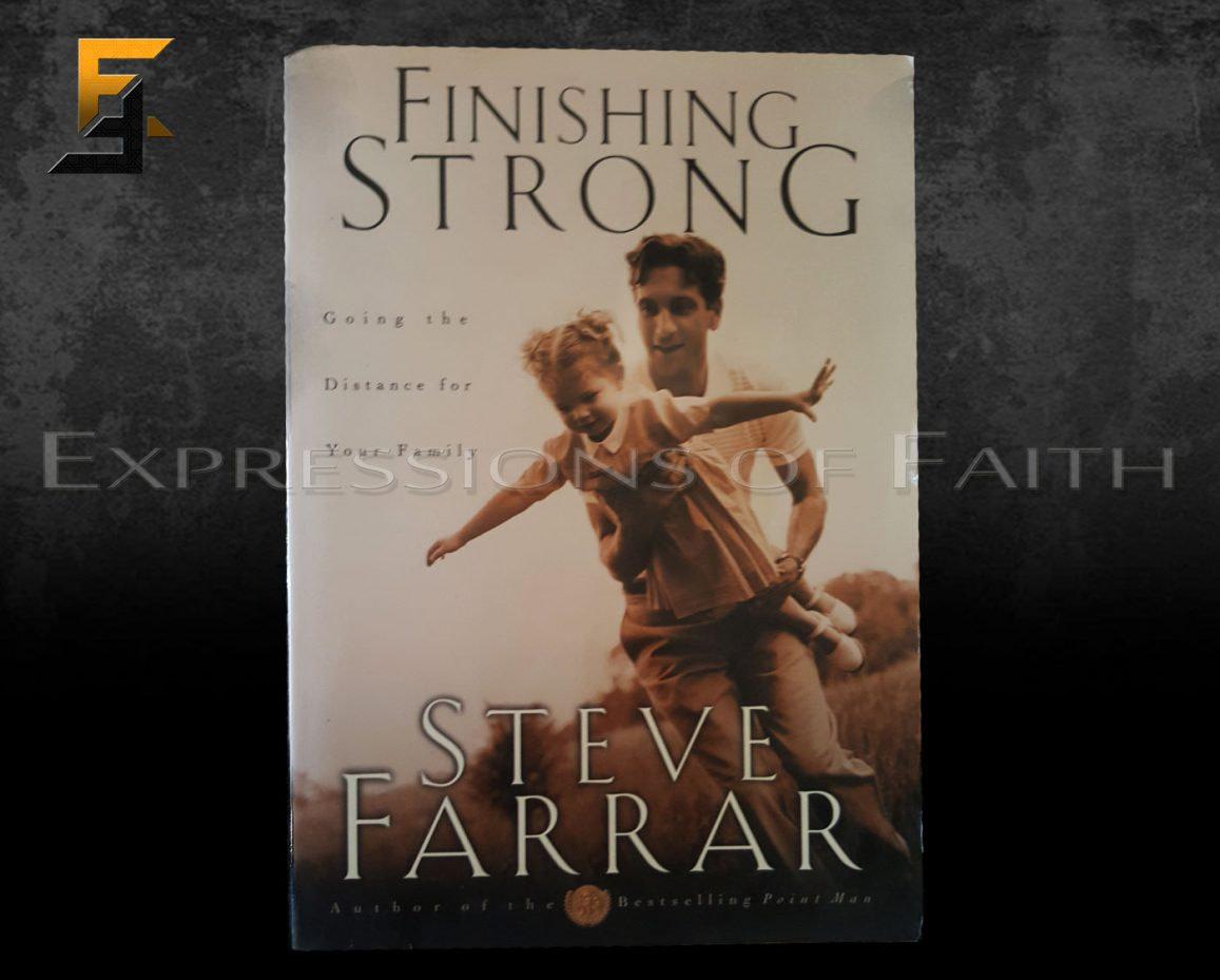 B009 Finishing Strong Steve Farrar Front - Book Shop