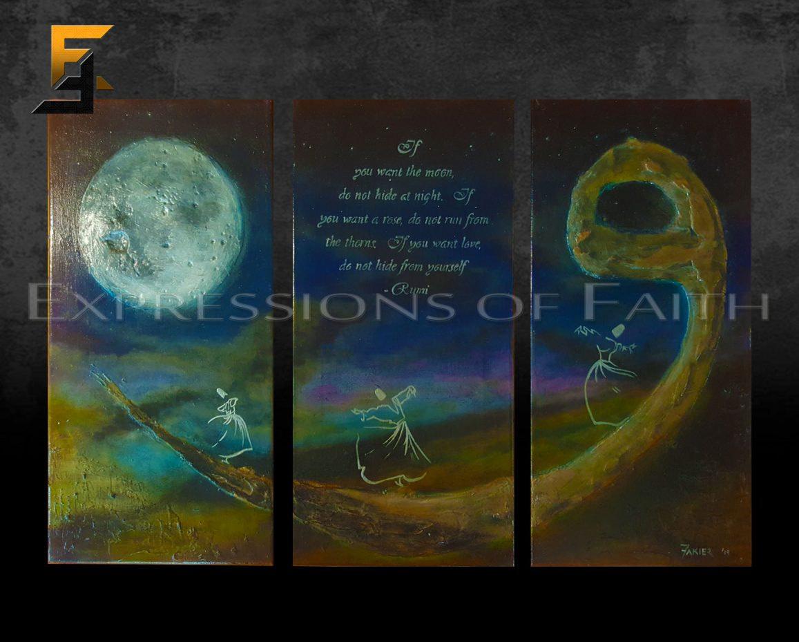AF039 Waw Whirling Dervishes Rumi 01 - Art Shop