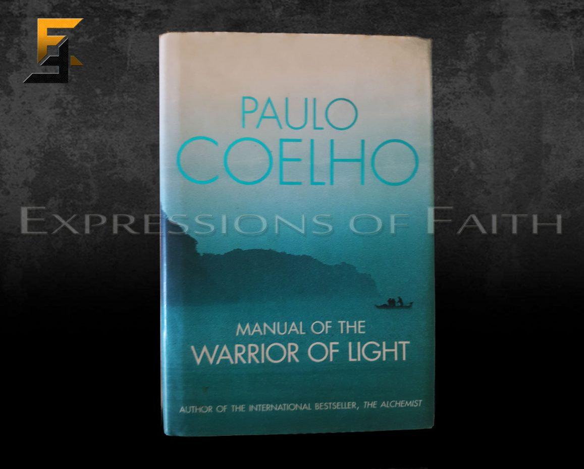 B011 Manual of the Worrior of Light Paulo Coelho Front - Book Shop