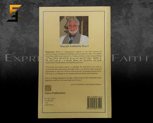 B002 Beginings End Fadhlalla Haeri Back 500x401 - Book Shop