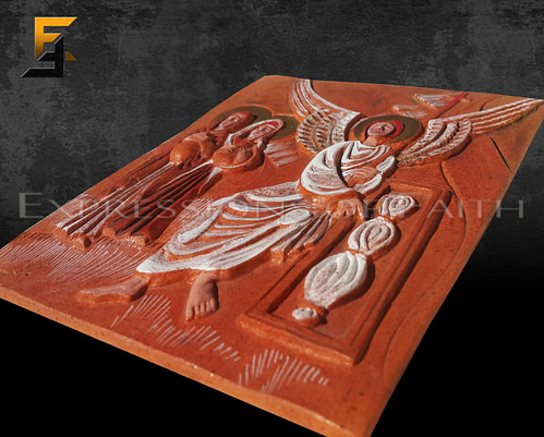 Angel on Clay