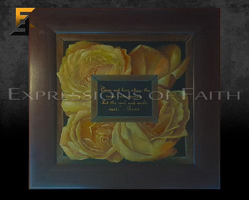 AF042 Rose Bed Rumi 500x401 - Art Shop