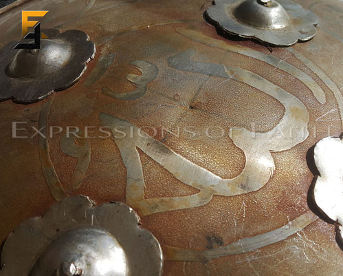 Indo Persian Mugal Dhal Shield