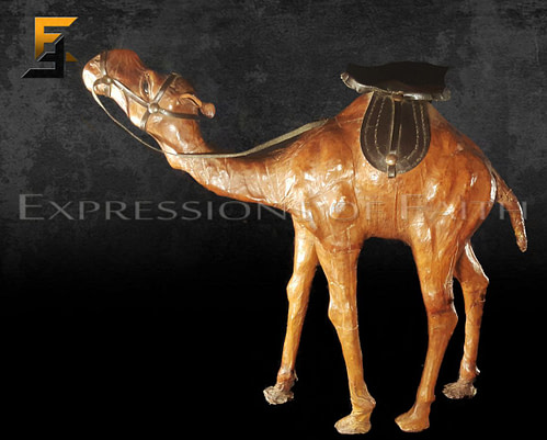Moroccan Leather Camels