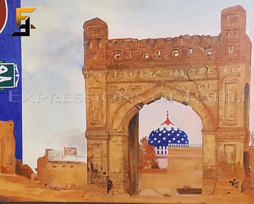 AF027 Sultan Bahu Hazrat Faqir Noor Muhammad Sarwari Qadri RA Sarwari Qadri 02 500x401 - Art Shop