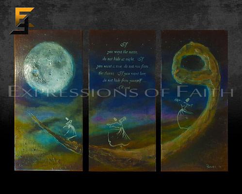 AF039 Waw Whirling Dervishes Rumi 01 500x401 - Art Shop