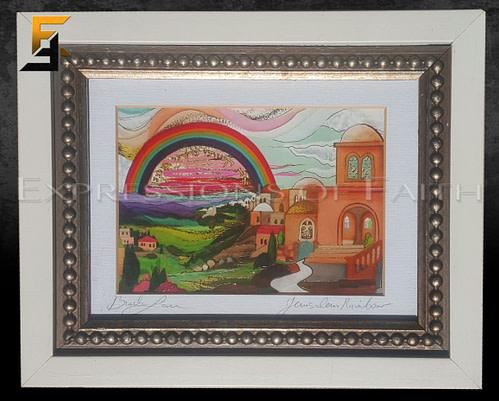 WA005 Jerusalem rainbow 001 500x401 - Art Shop