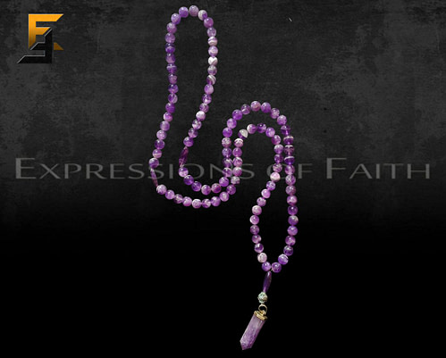 Amathyst Prayer Beads