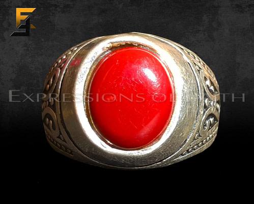 Carnelian Mens Ring