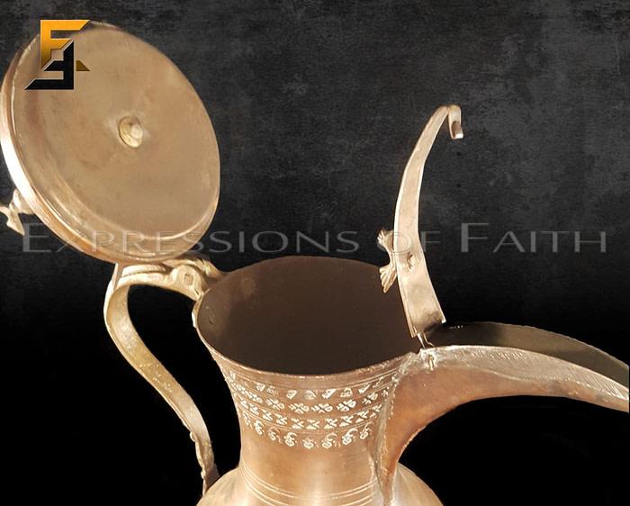 Copper Turkish Dallah
