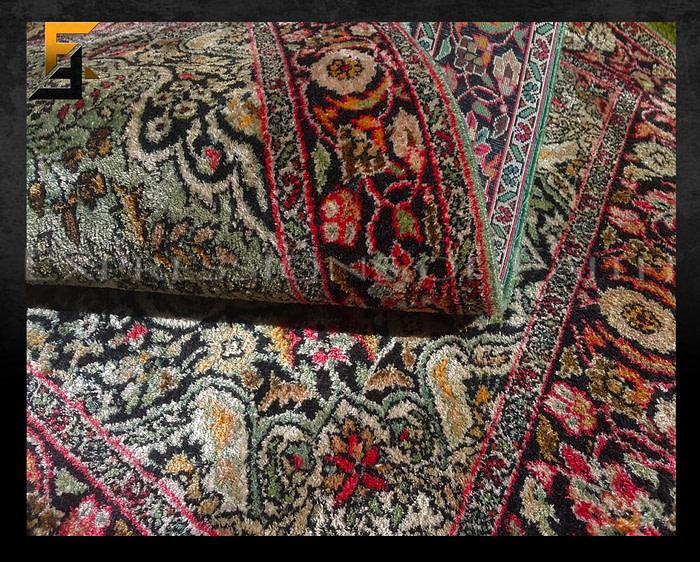 Indian Kashmir Silk Rug