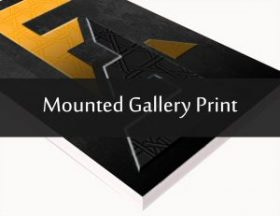 Mounted Gallery Print