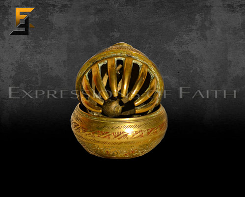 Indian elephant claw bell