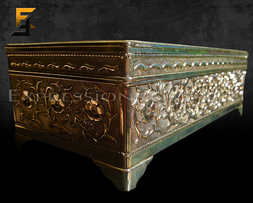 AJB001 Jewelry box Alloy 002 500x401 - Antiques Shop