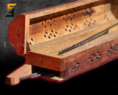 Indian Wooden Incense Burner