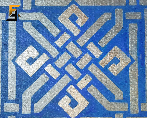 Kufic Praise – Alhamdulillah