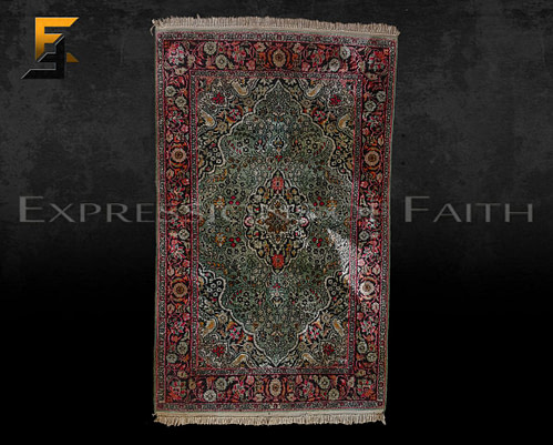 CAR005 Indian Silk Area Rug 001 500x401 - Carpet Shop