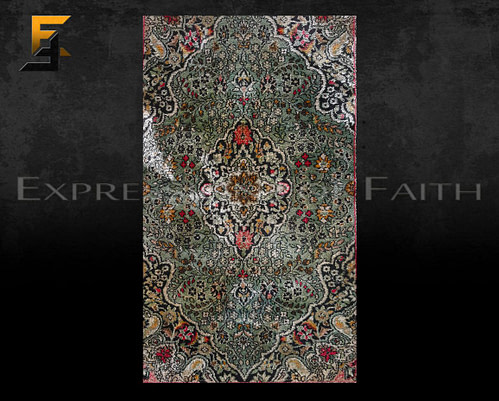 CAR005 Indian Silk Area Rug 002 500x401 - Carpet Shop