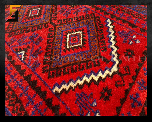 Baluch Rust Prayer Rug