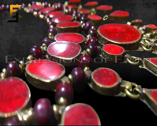 JA002 Red Agate Necklace 003 500x401 - Jewellery Shop