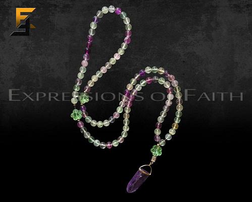 Fluorite Prayer Beads