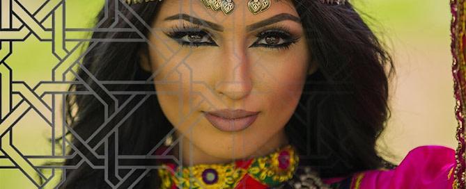 Afghan Woman Jewellery 669x272 - Tribal traditions