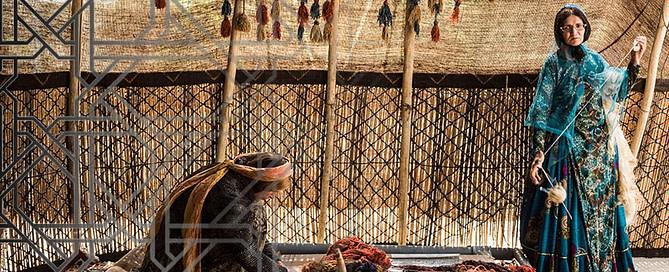 Carpet Making 669x272 - The art of rug making