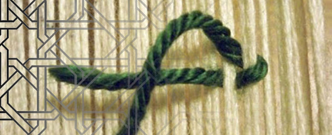 Carpet knot 669x272 - Nuts about knots