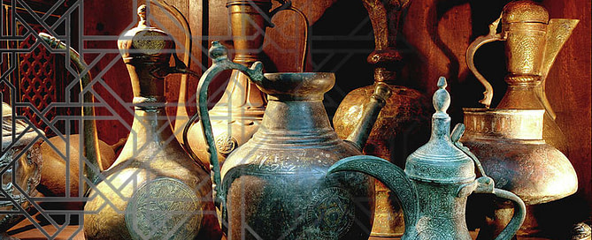 arabic coffee pot dallah tejal pandya 669x272 - The drink of the Sages