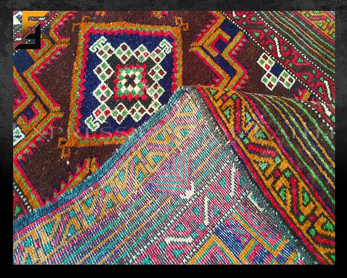 Caucasus Afghan Area Rug
