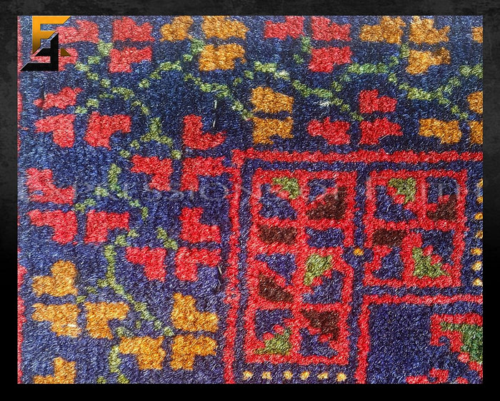 Baluch Pictorial Rug
