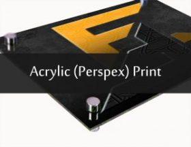 Acrylic (Perspex) Print